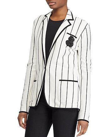 Ralph Lauren - Striped Knit Blazer