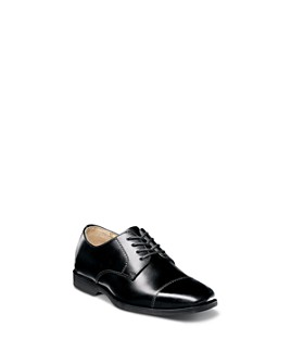 Florsheim Kids - Boys' Reveal Cap Toe Oxford Shoes - Toddler, Little Kid, Big Kid