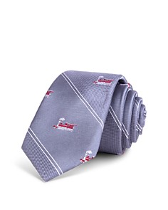 Bloomingdale's Boys Boys' Train-Print Tie - 100% Exclusive_0
