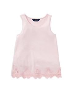 Polo Ralph Lauren Girls' Lace-Trim Tank Top - Big Kid - Bloomingdale's_0