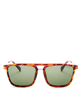Polaroid - Men's Polarized Square Sunglasses, 56mm