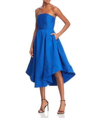 $C/MEO Collective Strapless Making Waves Dress - 100% Exclusive - Bloomingdale's