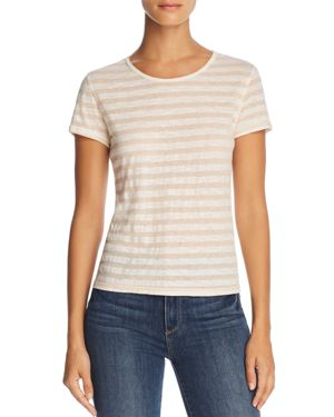 MICHELLE BY COMUNE SHARON HEATHER STRIPE TEE