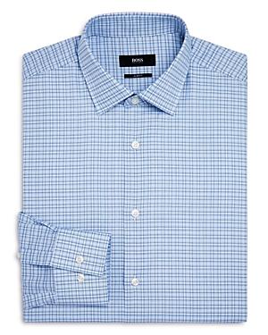 Boss Dash Check Slim Fit Dress Shirt
