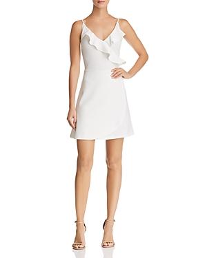 Aqua Ruffle Faux-Wrap Dress - 100% Exclusive