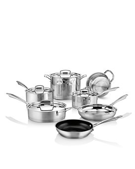 Cuisinart - Professional Series Stainless Steel 11-Piece Cookware Set