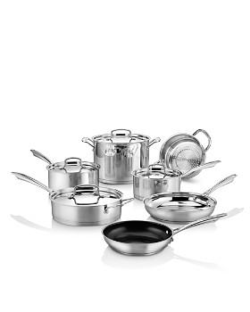 Cuisinart - Professional Series Stainless Steel 11-Piece Cookware Set