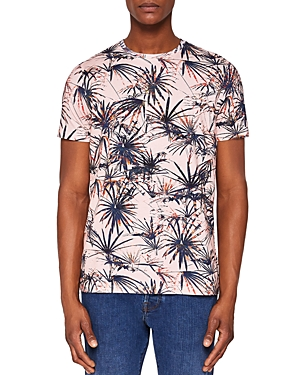 Ted Baker Yorkii Tropical Print Tee