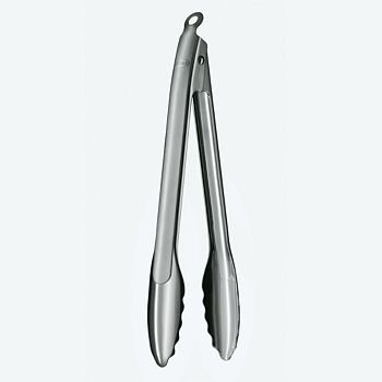 "Rosle - 12"" Stainless Steel Locking Tongs"