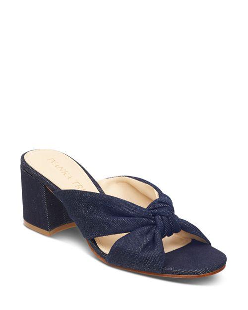 IVANKA TRUMP - Women's Earin 2 Block Heel Slip On Sandals
