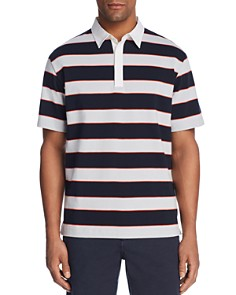 Theory Rugby Stripe Polo Shirt - Bloomingdale's_0