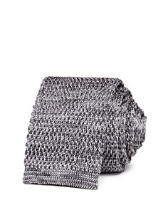 The Men's Store at Bloomingdale's Mélange Knit Skinny Tie - 100% Exclusive_0