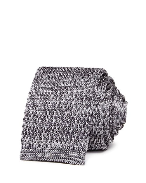 The Men's Store at Bloomingdale's - Mélange Knit Skinny Tie - 100% Exclusive