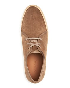 Vince - Men's Chandler Suede Espadrille Lace Up Sneakers