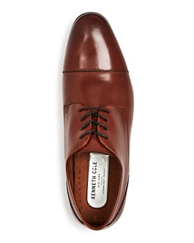 198566646f ... Kenneth Cole - Men s Mix Leather Cap Toe Oxfords