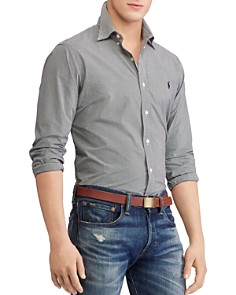 Polo Ralph Lauren - Poplin Classic Fit Button-Down Shirt