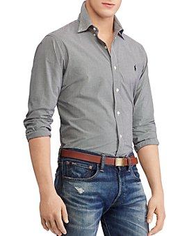 Polo Ralph Lauren - Poplin Classic Fit Button-Down Shirt