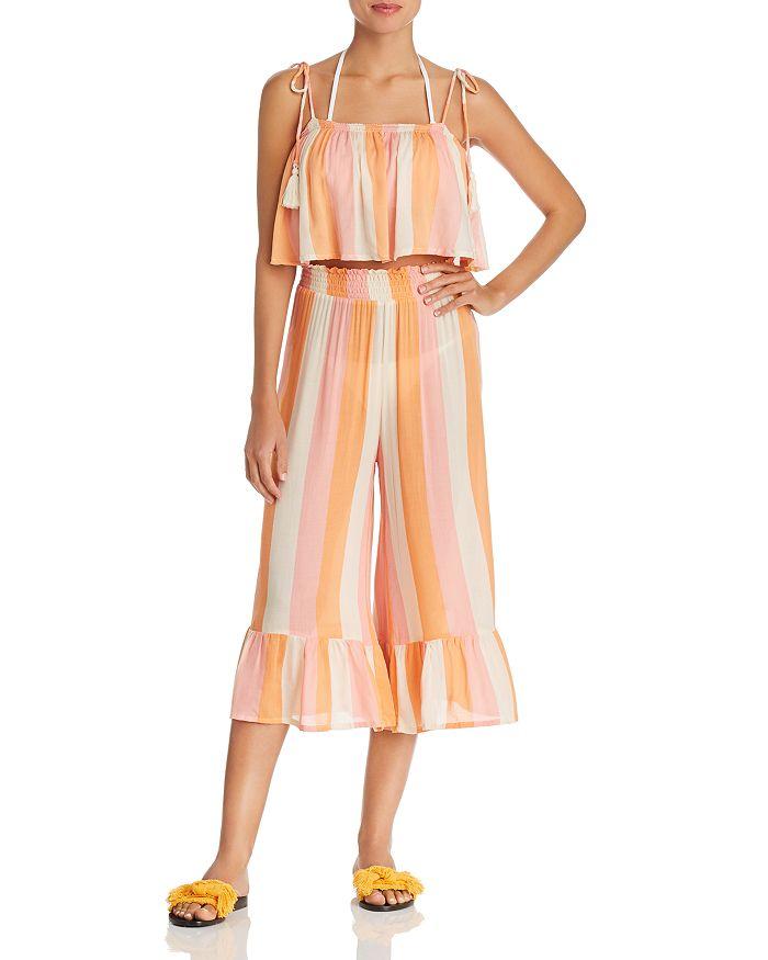 Coolchange - Ella Crop Top & Payton Seaside Swim Cover-Up Pants