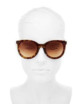 Bottega Veneta - Women's Round Sunglasses, 61mm
