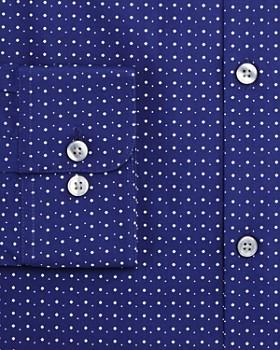 John Varvatos Star USA - Micro Diamond Dot Slim Fit Dress Shirt