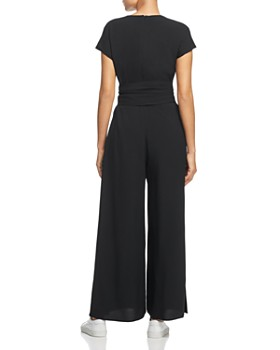 Weekend Max Mara - Narsete Belted Wide-Leg Jumpsuit