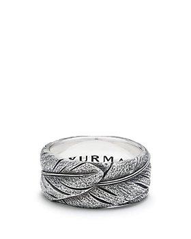 David Yurman - Southwest Wide Feather Band Ring