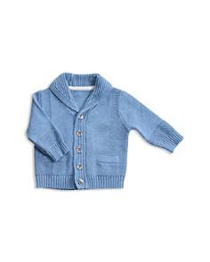 Angel Dear - Boys' Shawl Collar Cardigan - Baby
