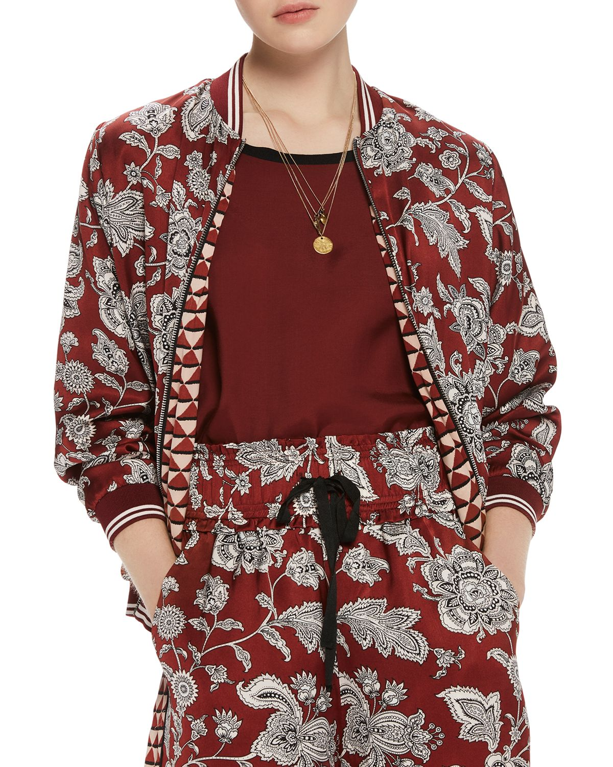 Printed Reversible Bomber Jacket by Scotch &Amp; Soda