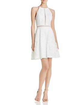 AQUA - Lace Cocktail Dress - 100% Exclusive
