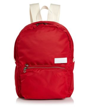 The Heights Mini Lorimer Nylon Backpack - Red, Red/Silver