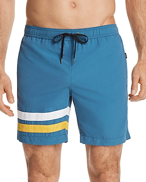 Onia Charles Striped Swim Trunks - 100% Exclusive