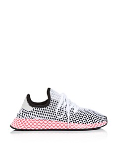 Adidas - Women's Deerupt Net Lace Up Sneakers