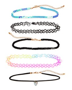 Capelli Girls' Chokers, Set of 5 - Bloomingdale's_0