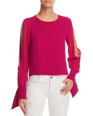 ADDY SLIT-SLEEVE TOP from Bloomingdale's