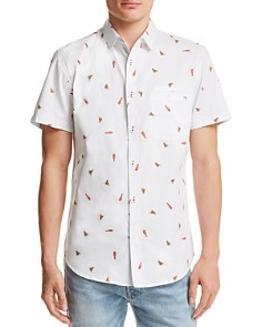 Sovereign Code Pismo Pizza and Beer Button-Down Shirt - 100% Exclusive - Bloomingdale's_0