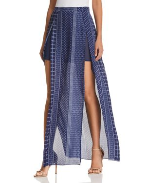 JAYDEN SLIT-FRONT MAXI SKIRT from Bloomingdale's