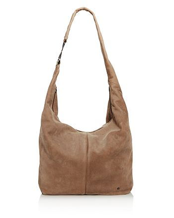 9786b24ead36 HALSTON HERITAGE - Tina Large Slouch Nubuck Leather Hobo