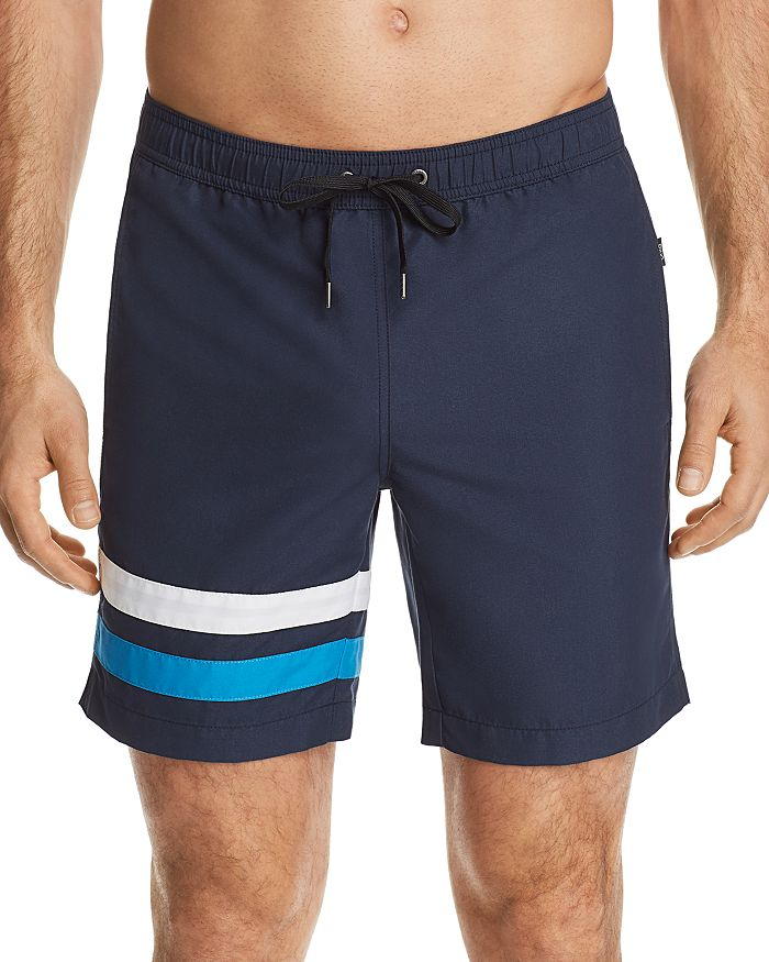 8d47f2f5ff05d Onia Charles Striped Swim Trunks - 100% Exclusive | Bloomingdale's