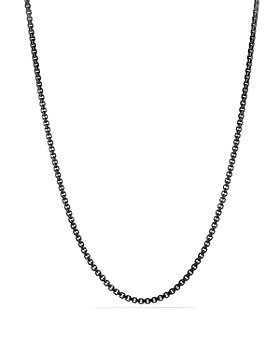 David Yurman - Box Chain Necklace, 4mm