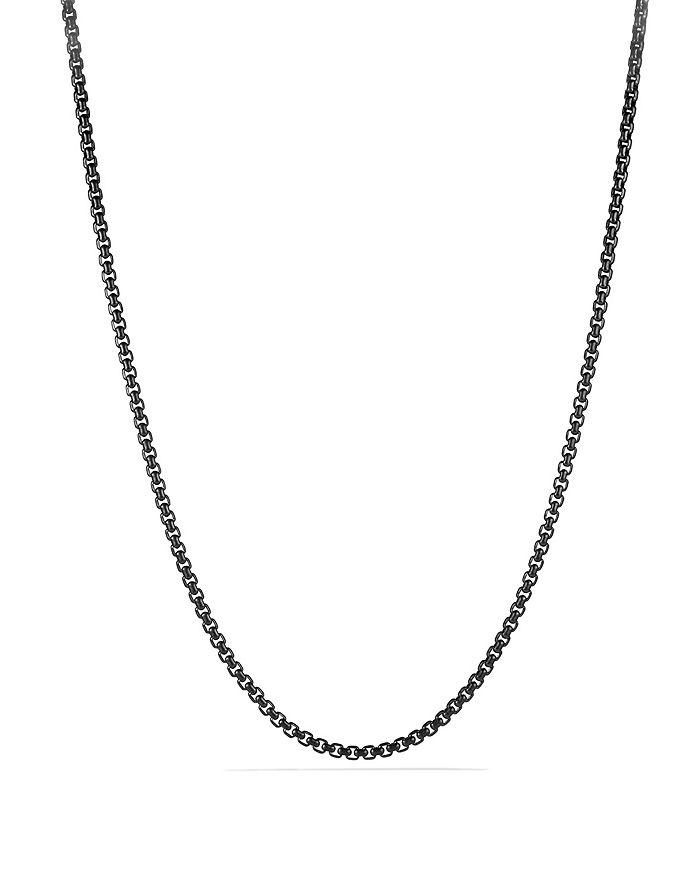 David Yurman - Box Chain Necklace, 4mm