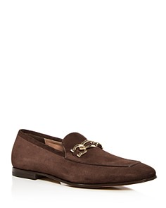 Salvatore Ferragamo - Men's Suede Apron-Toe Loafers - 100% Exclusive