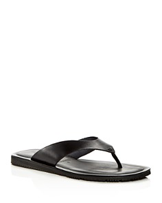 The Men's Store at Bloomingdale's - Men's Leather Thong Sandals - 100% Exclusive
