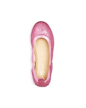 Yosi Samra - Girls' Miss Samara Glitter Ballet Flats - Toddler, Little Kid, Big Kid
