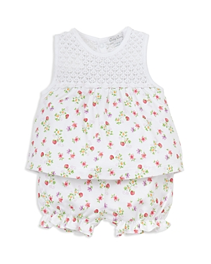 Kissy Kissy Girls Blooming Berries Print Top  Bloomers Set  Baby