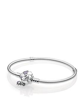 PANDORA - Sterling Silver Wildflower Meadow Clasp Bracelet