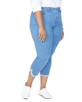 NYDJ Plus - Ami Skinny Cropped Jeans in Bliss