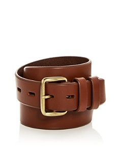 Cole Haan Waxed Leather Belt - Bloomingdale's_0