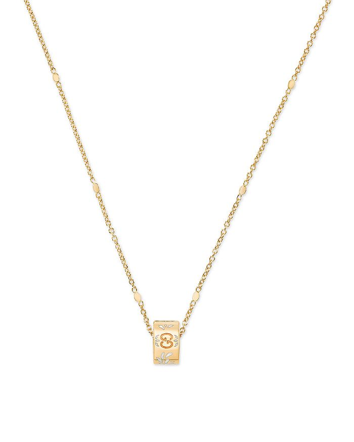 60aecf3fc Gucci 18K Yellow Gold Icon Necklace, 17.3