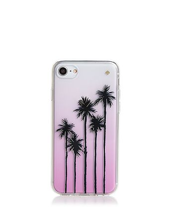 kate spade new york - Ombré Palm Tree iPhone 7/8 Case