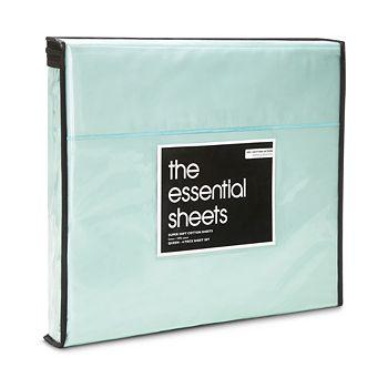 Bloomingdale's Essentials - 400TC Wrinkle Free Sheet Set, Queen - 100% Exclusive